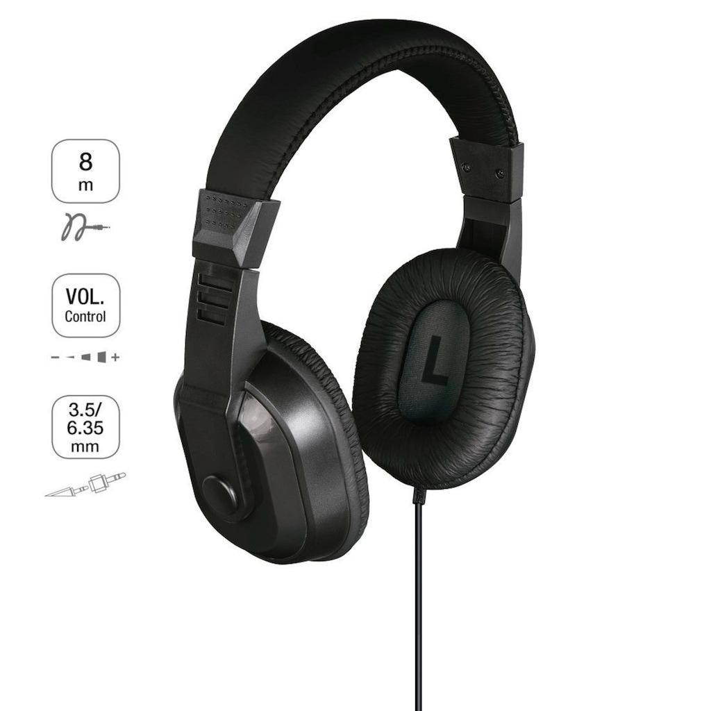 Thomson Kopfhörer TV Over Ear, Bügelkopfhörer »langes Kabel«