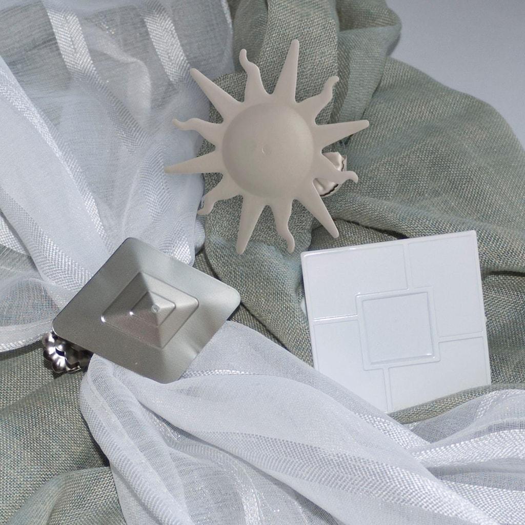Good Life Dekoklammer für Raffhalter »Sonne«, für Stoffe und Vorhänge
