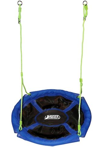 Nestschaukel »blau/schwarz 110 cm«, Gartenschaukel kaufen