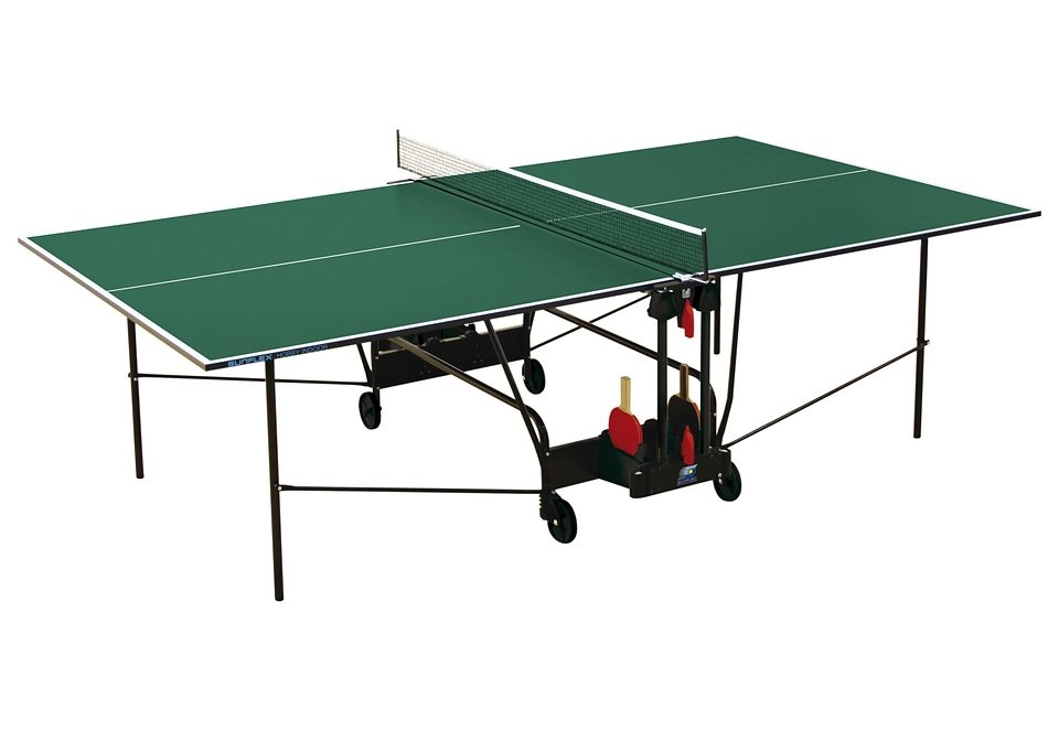 Sunflex Tischtennisplatte HOBBY INDOOR Technik & Freizeit/Sport & Freizeit/Sportarten/Tischtennis/Tischtennis-Ausrüstung