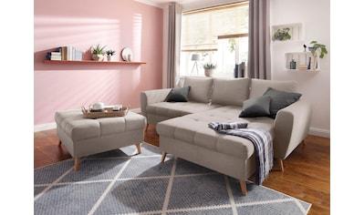 Home affaire Ecksofa »Penelope Luxus«, mit besonders hochwertiger Polsterung für bis... kaufen