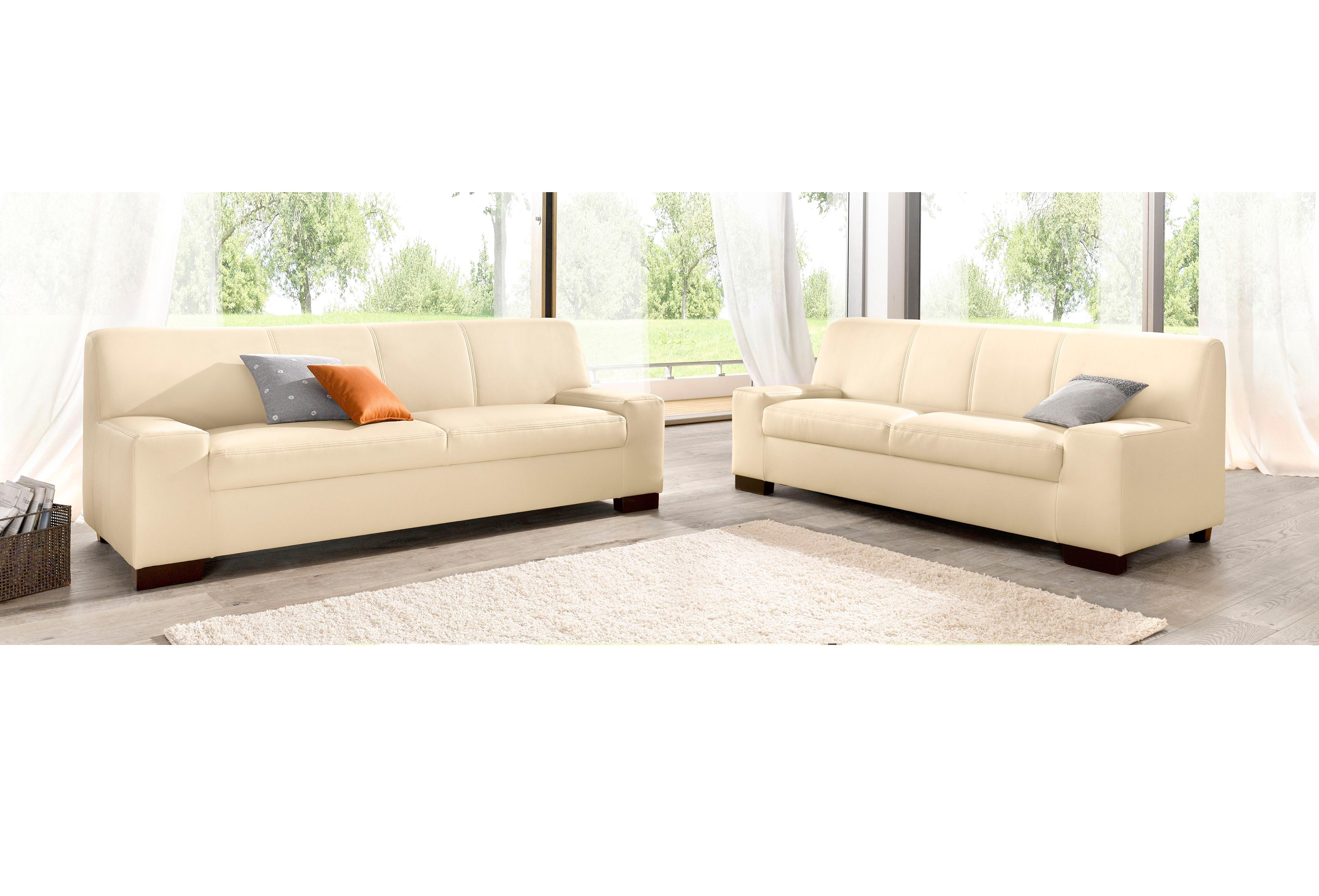 DOMO Collection Set: 2-Sitzer und 3-Sitzer (2-tlg.)
