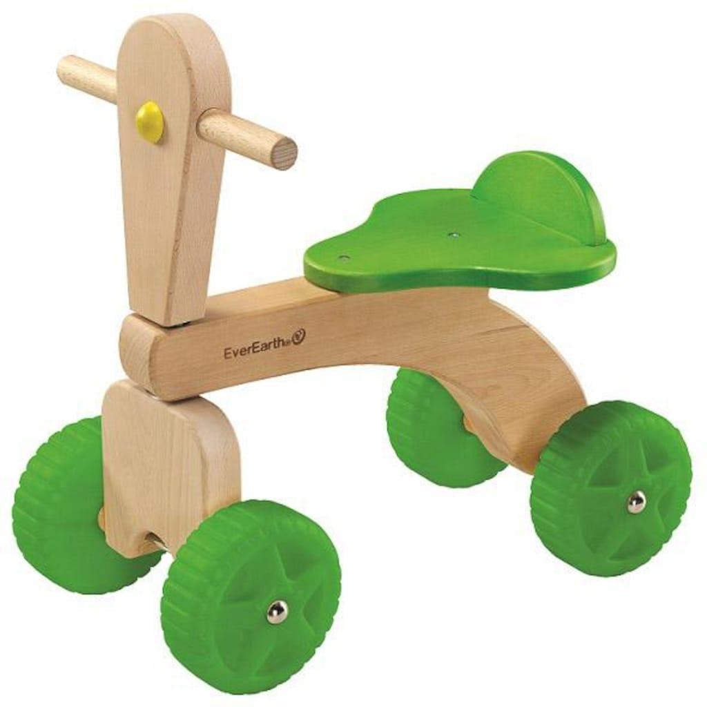 EverEarth® Rutscher »Vierrad«, aus Holz, FSC®-Holz aus gewissenhaft bewirtschafteten Wäldern