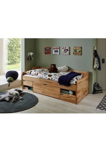 Relita Funktionsbett »Levi«, mit Rollrost, Schubladen und Fächern, wahlweise mit Matratze kaufen