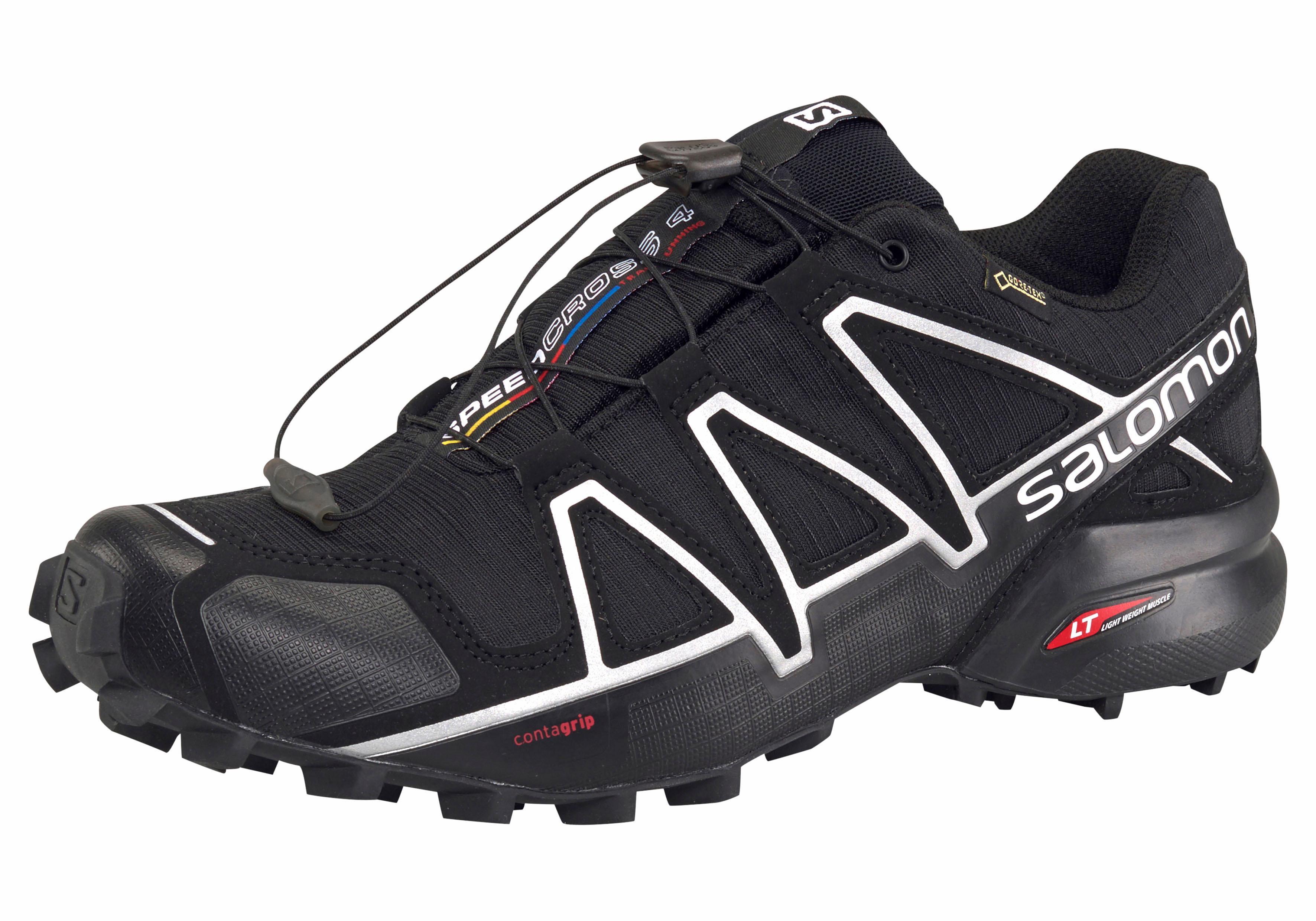 Salomon Laufschuh Speedcross 4 Gore-Tex | Schuhe > Sportschuhe > Laufschuhe | Schwarz | Salomon