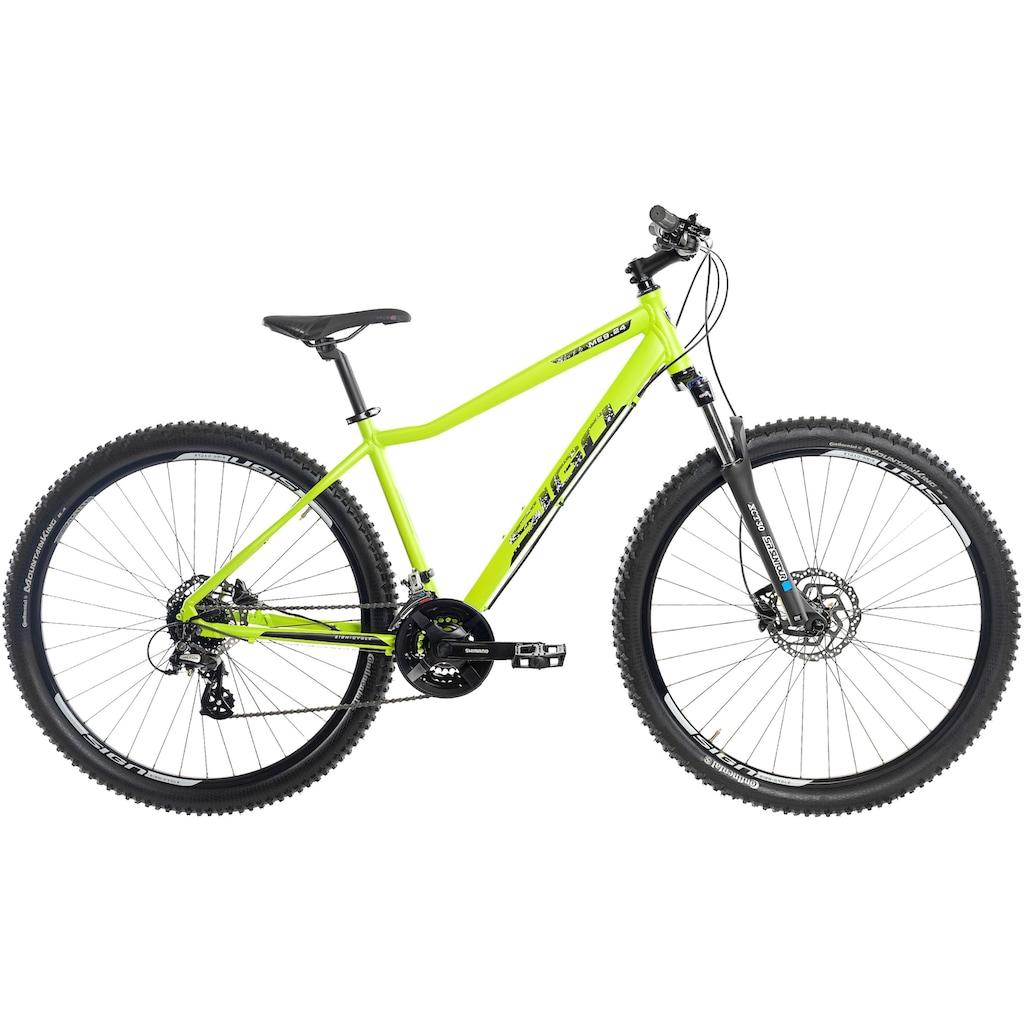 SIGN Mountainbike, 24 Gang, Shimano, ALTUS RD-M310 Schaltwerk
