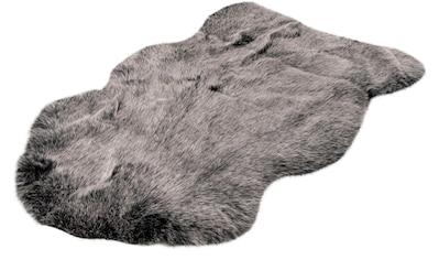 Fellteppich, »Tender 125«, me gusta, fellförmig, Höhe 52 mm, maschinell gewebt kaufen