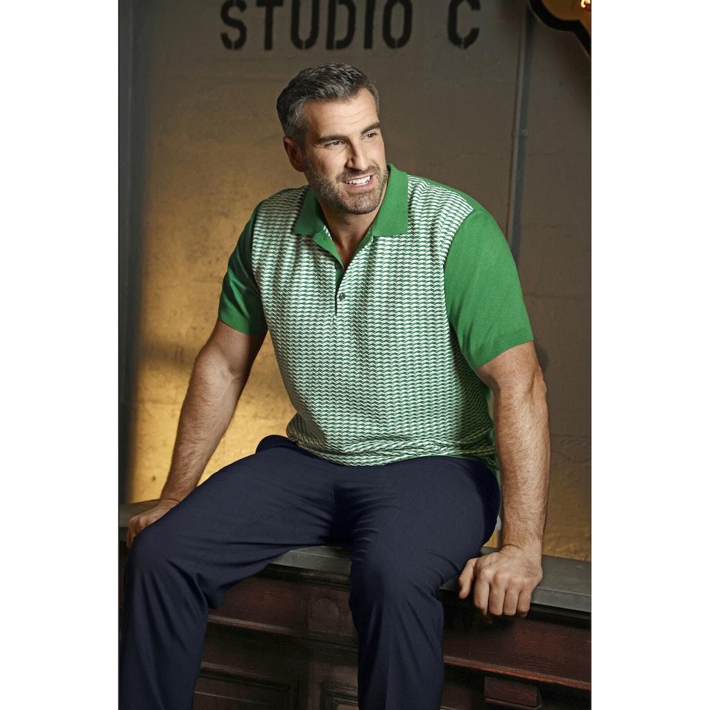 Charles Colby Poloshirt »EARL SAFAT«, im Retro-Stil, Comfort Fit