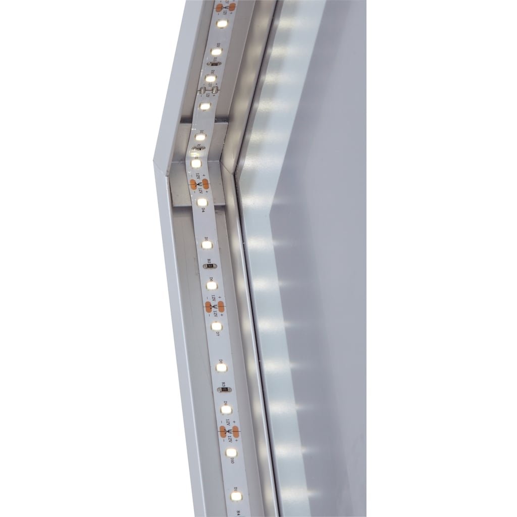 welltime LED-Lichtspiegel »Miami«, Breite 45 cm