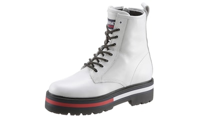 TOMMY JEANS Schnürboots »FLAG OUTSOLE LACE UP BOOT« kaufen
