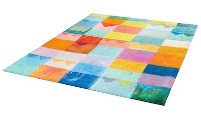 Teppich, »Sonnenstadt«, wash+dry by Kleen - Tex, rechteckig, Höhe 9 mm, gedruckt kaufen