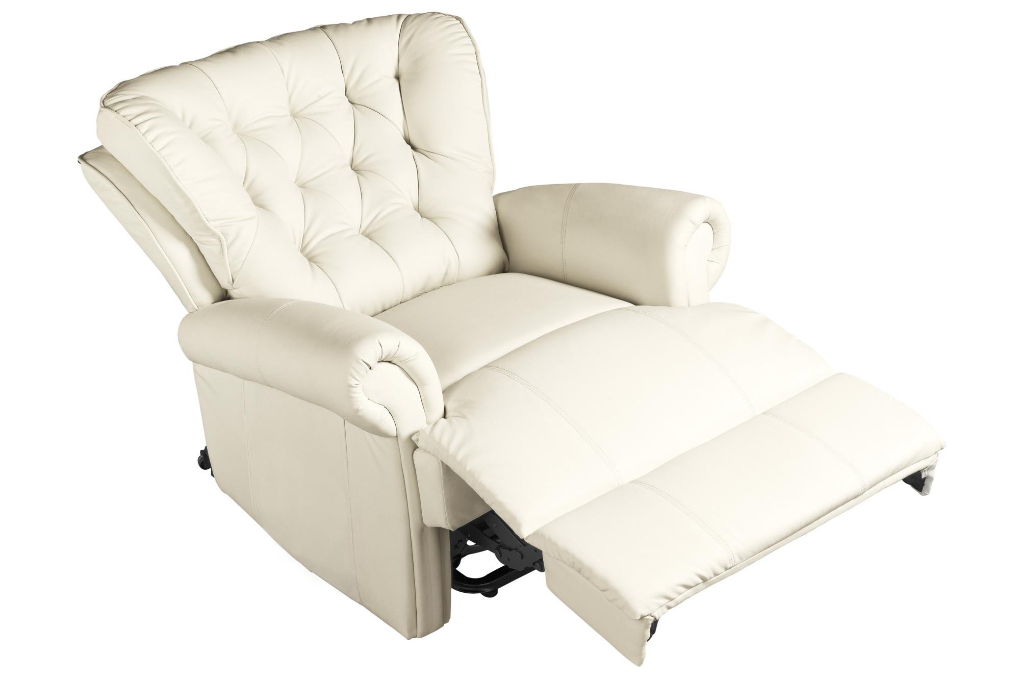 heine home Sessel Fußteil und Rückenlehne manuell verstellbar