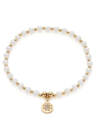 CIAO! BY LEONARDO Armband »Pelena gold CIAO, 021178«, mit Kristallglas - mit... kaufen