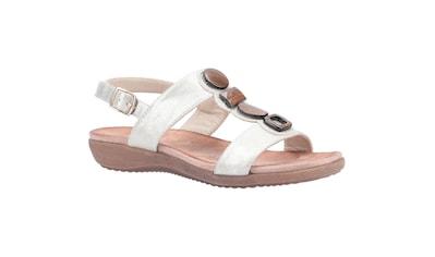 Fleet & Foster Sandale »Damen Rosa Schnallen« kaufen