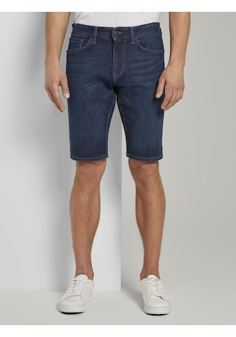 TOM TAILOR Jeansshorts »Josh Regular Slim Jeans-Shorts mit Superstretch« kaufen