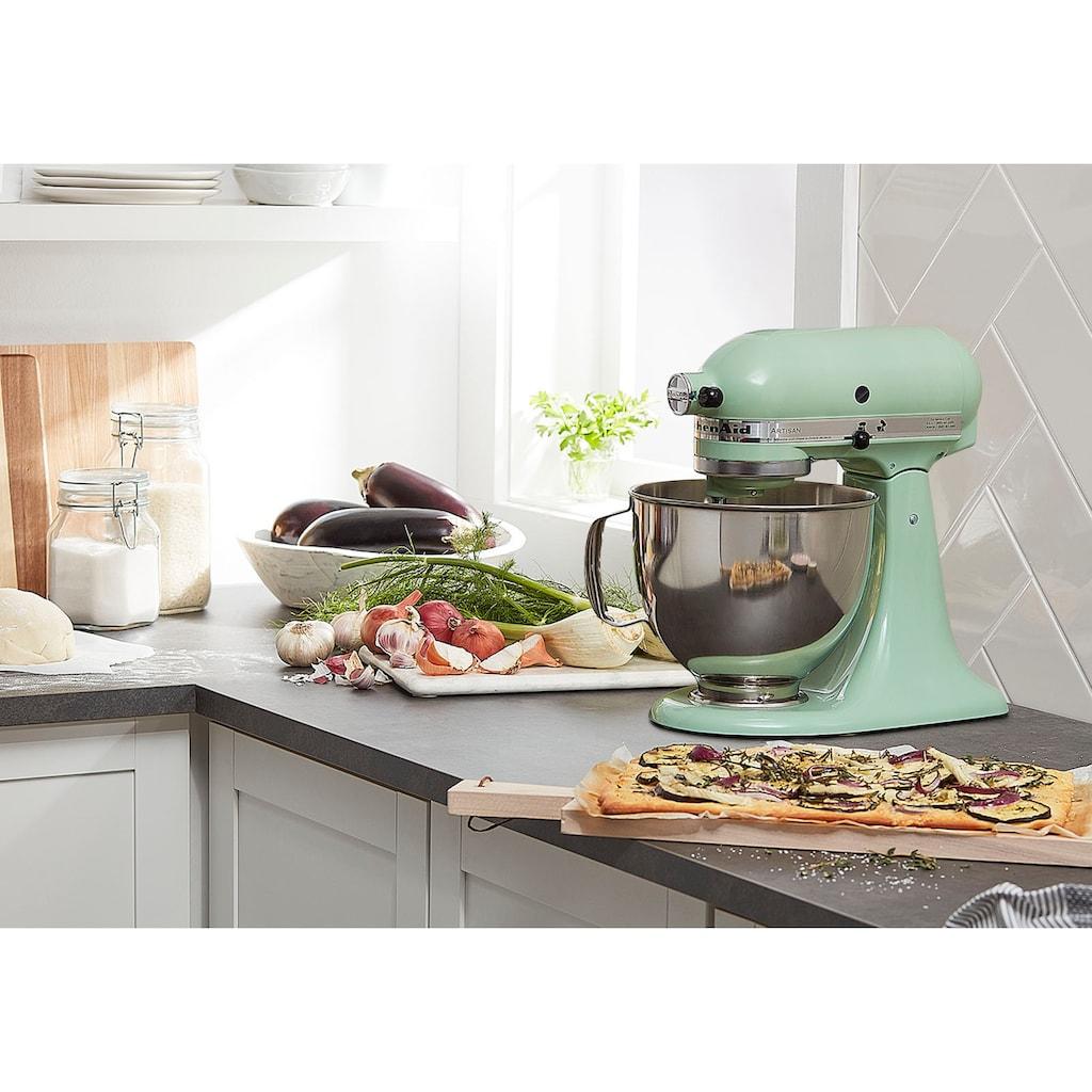 KitchenAid Küchenmaschine »Artisan 5KSM175PSEPT«, 300 W, 4,8 l Schüssel, mit Gratis Wasserkocher, 2. Schüssel, Flexirührer