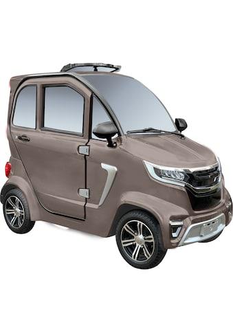 Didi THURAU Edition Elektromobil »4 - Rad eLazzy Premium 45 km/h  -  mit Vor - Ort - Einweisung«, 2000 W kaufen