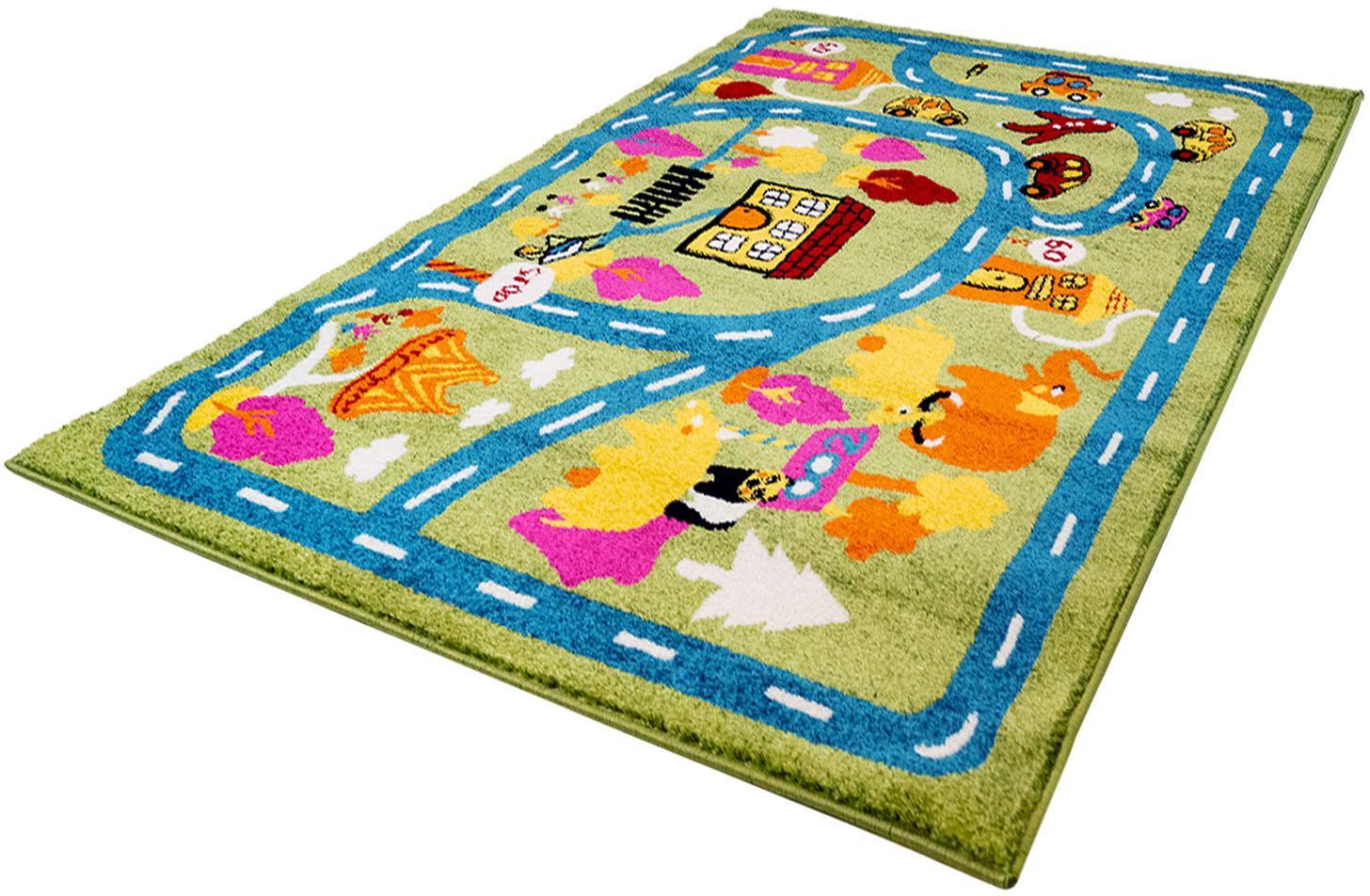 Kinderteppich Moda Kids 1512 Carpet City rechteckig Höhe 11 mm maschinell gewebt