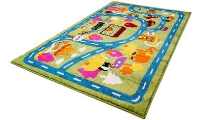 Kinderteppich, »Moda Kids 1512«, Carpet City, rechteckig, Höhe 11 mm, maschinell gewebt kaufen