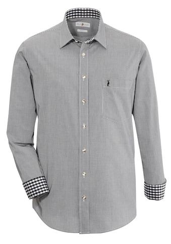 Almsach Trachtenhemd im Karo - Design kaufen