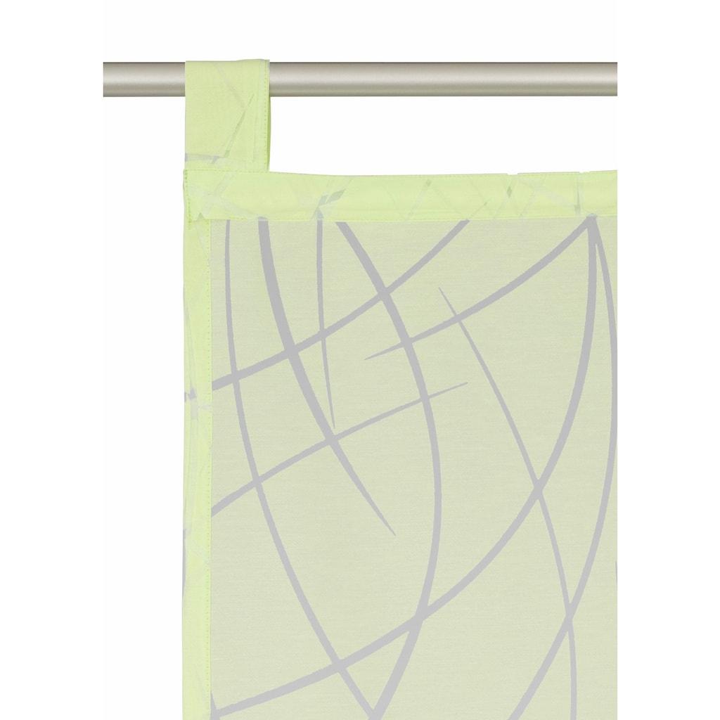 Schiebegardine, »Baruni«, my home Selection, Schlaufen 2 Stück