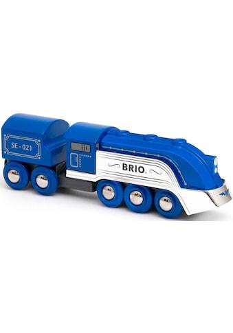 BRIO® Spielzeug-Zug »Blauer Dampfzug (Special Edition 2021)«, Limitierte Auflage kaufen