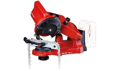 EINHELL Sägekettenschärfgerät »GE - CS 18 Li - Solo«, für alle gängigen Sägeketten kaufen