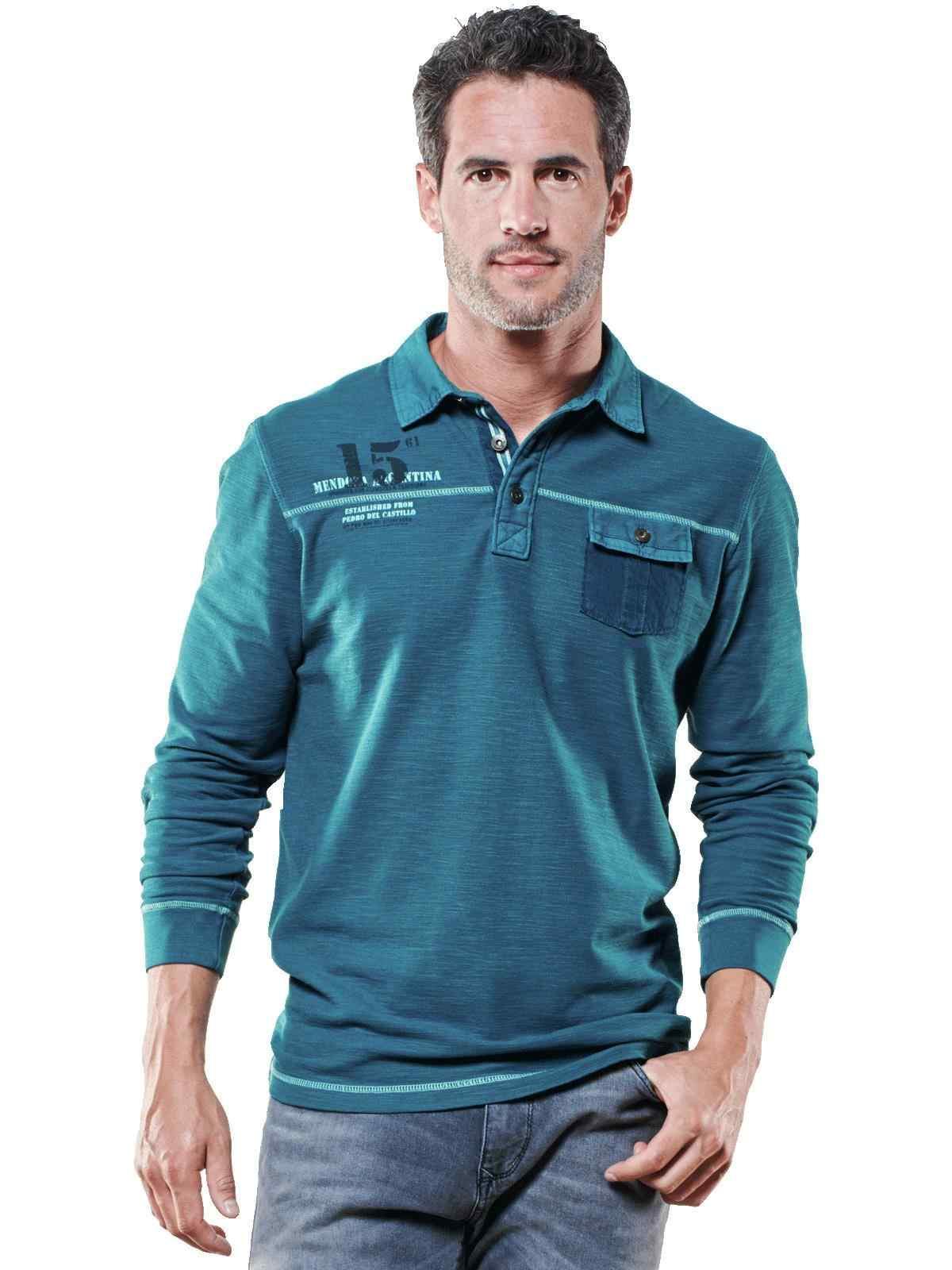 engbers Poloshirt langarm | Bekleidung > Polo Shirts > Langarm | Baumwolle | Engbers