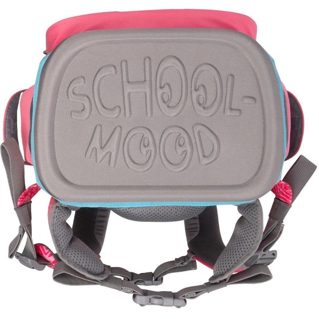 SCHOOL-MOOD® Schulranzen »Timeless Air, Camilla«, Reflektoren-retroreflektierende Flächen, aus recyceltem Material