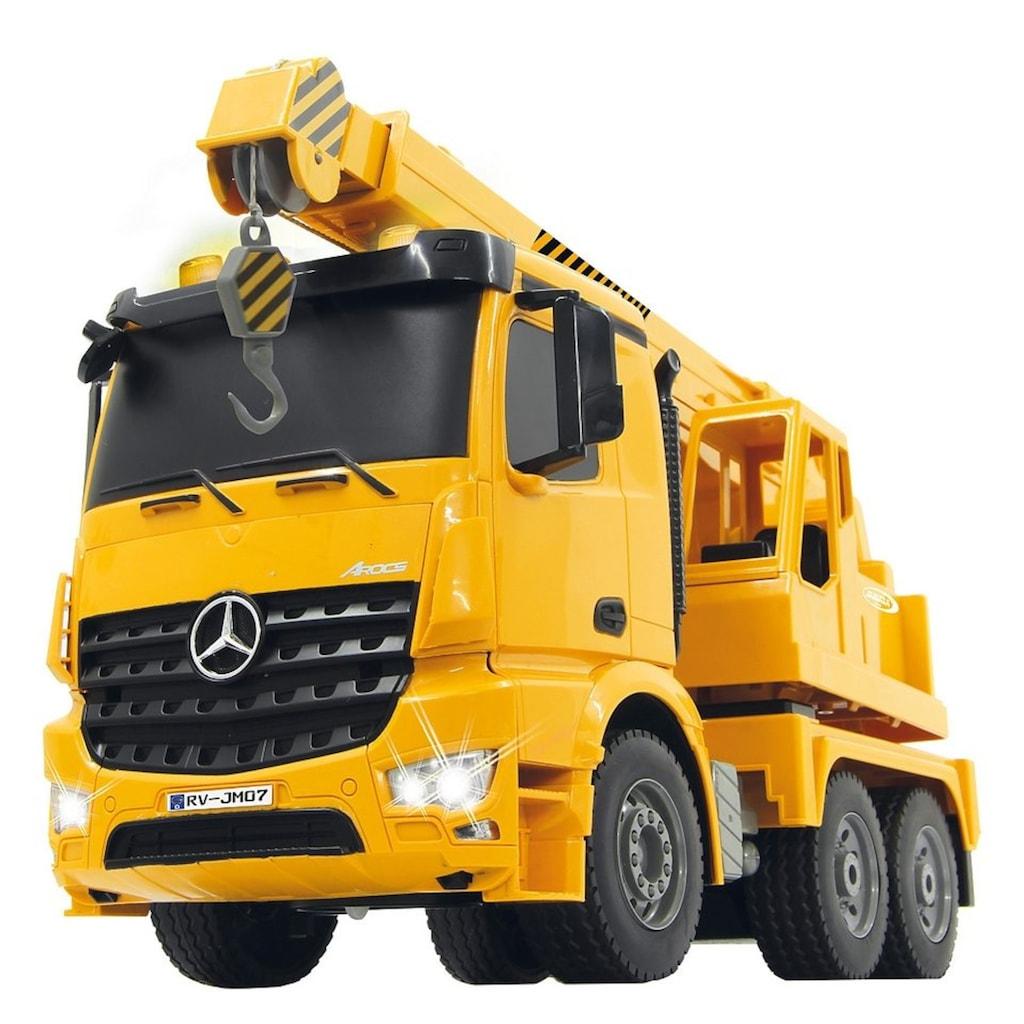 Jamara RC-Truck »Schwerlastkran Mercedes Arocs«, mit Signallichtern