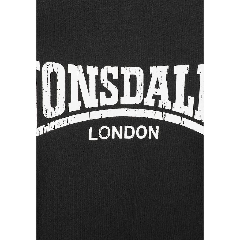 Lonsdale Kapuzensweatshirt »WOLVERTON«