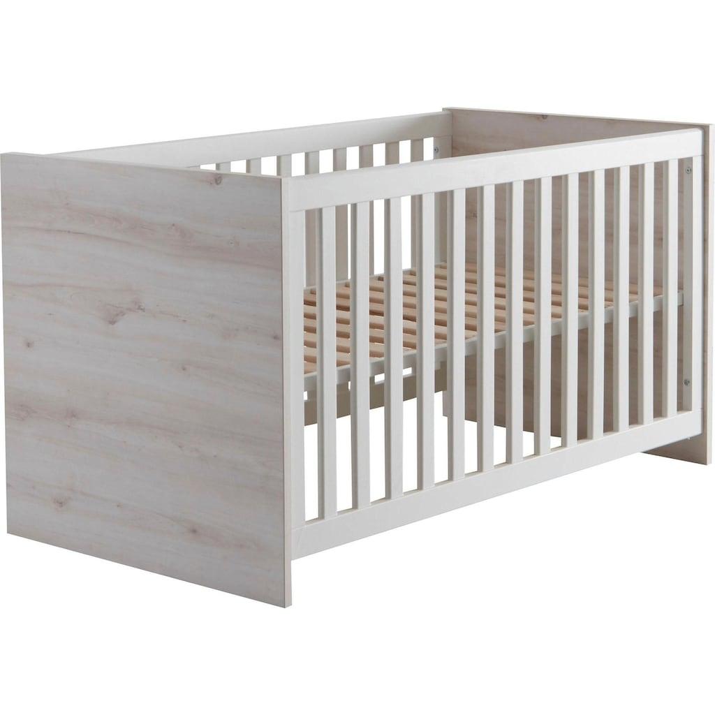 Begabino Babybett »Cuby«, mit Schlupfsprossen
