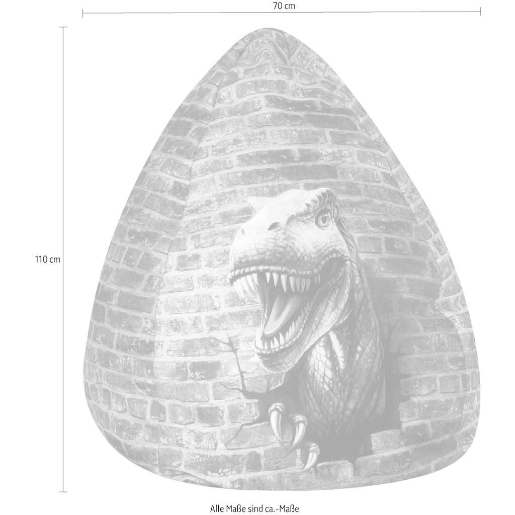 Sitting Point Sitzsack »BeanBag Dino XL«, Digitaldruck