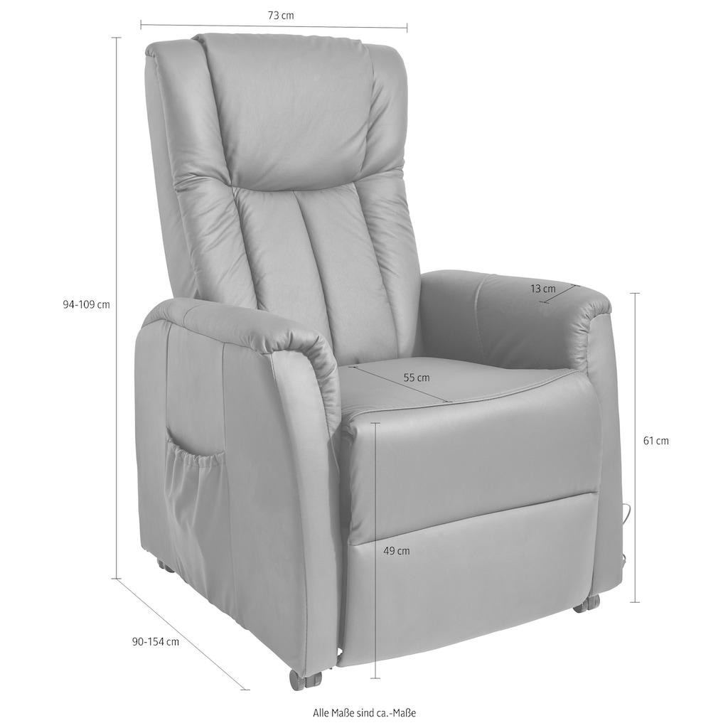 Duo Collection TV-Sessel, mit Motor und Aufstehhilfe