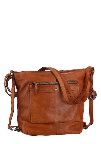 HARBOUR 2nd Cityrucksack »B3.9113 al-Cayenne«, aus Leder als Rucksack oder als... kaufen