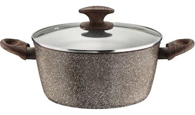 PINTINOX Kochtopf »Pinti Chalet«, Aluminium-Kunststoff, Stein-Optik, Induktion kaufen