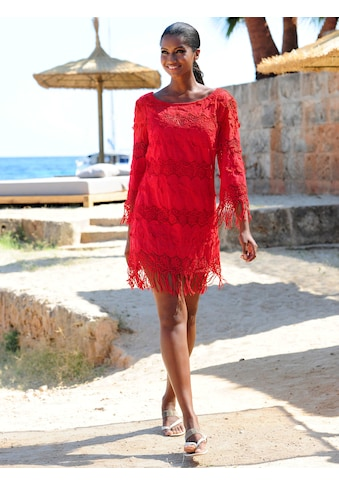 Alba Moda Tunika mit Fransen kaufen