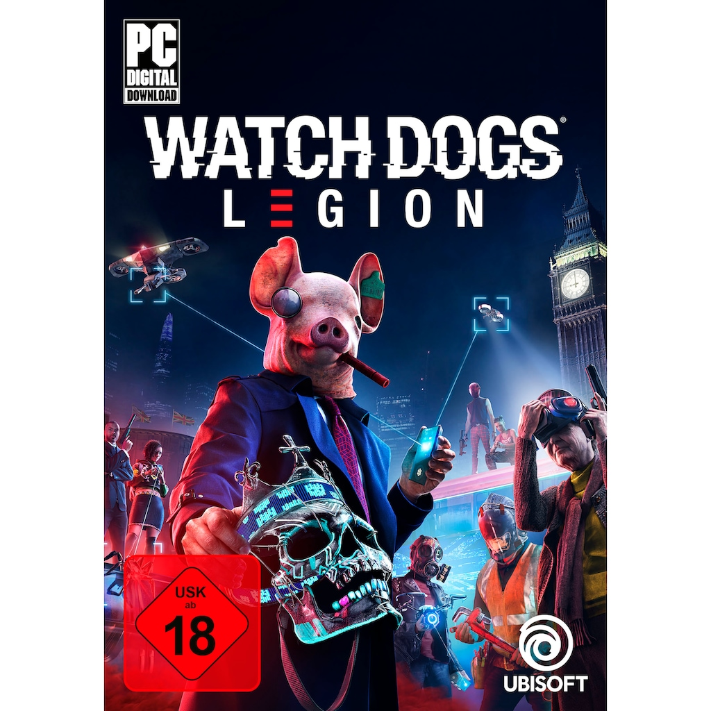 UBISOFT Spiel »Watch Dogs: Legion«, PC