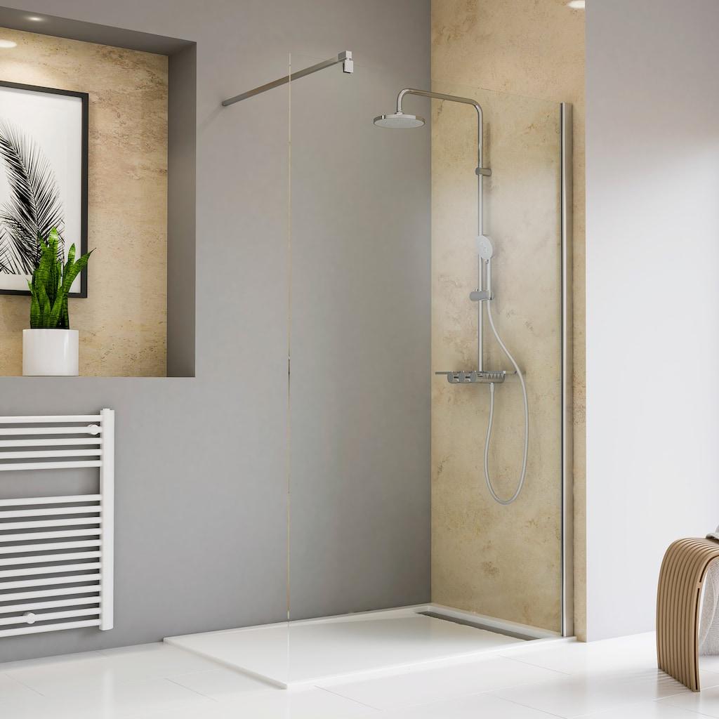 Schulte Walk-in-Dusche »Toura«, klarglas