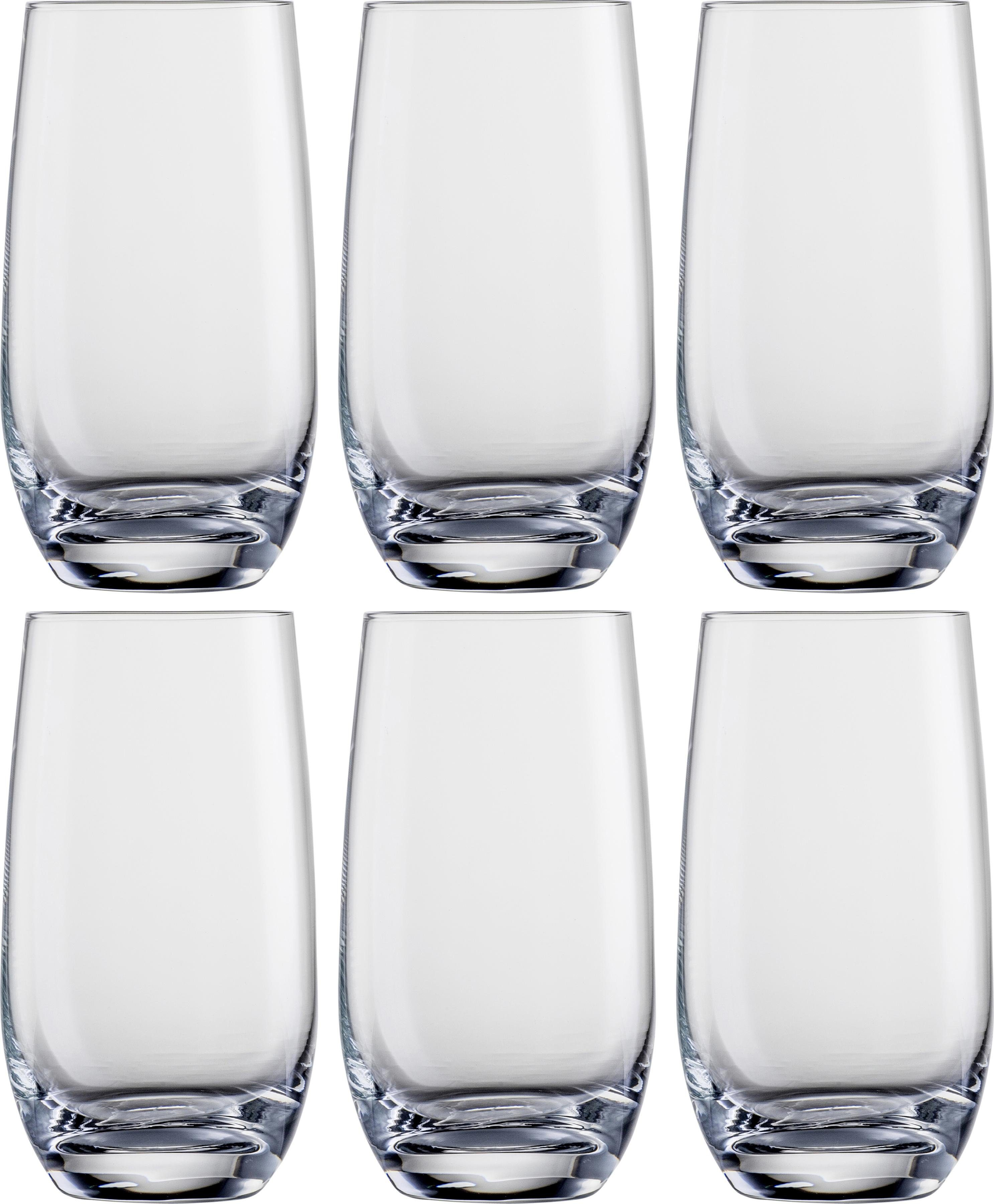 Eisch Longdrinkglas (6-tlg.) farblos Kristallgläser Gläser Glaswaren Haushaltswaren Trinkgefäße