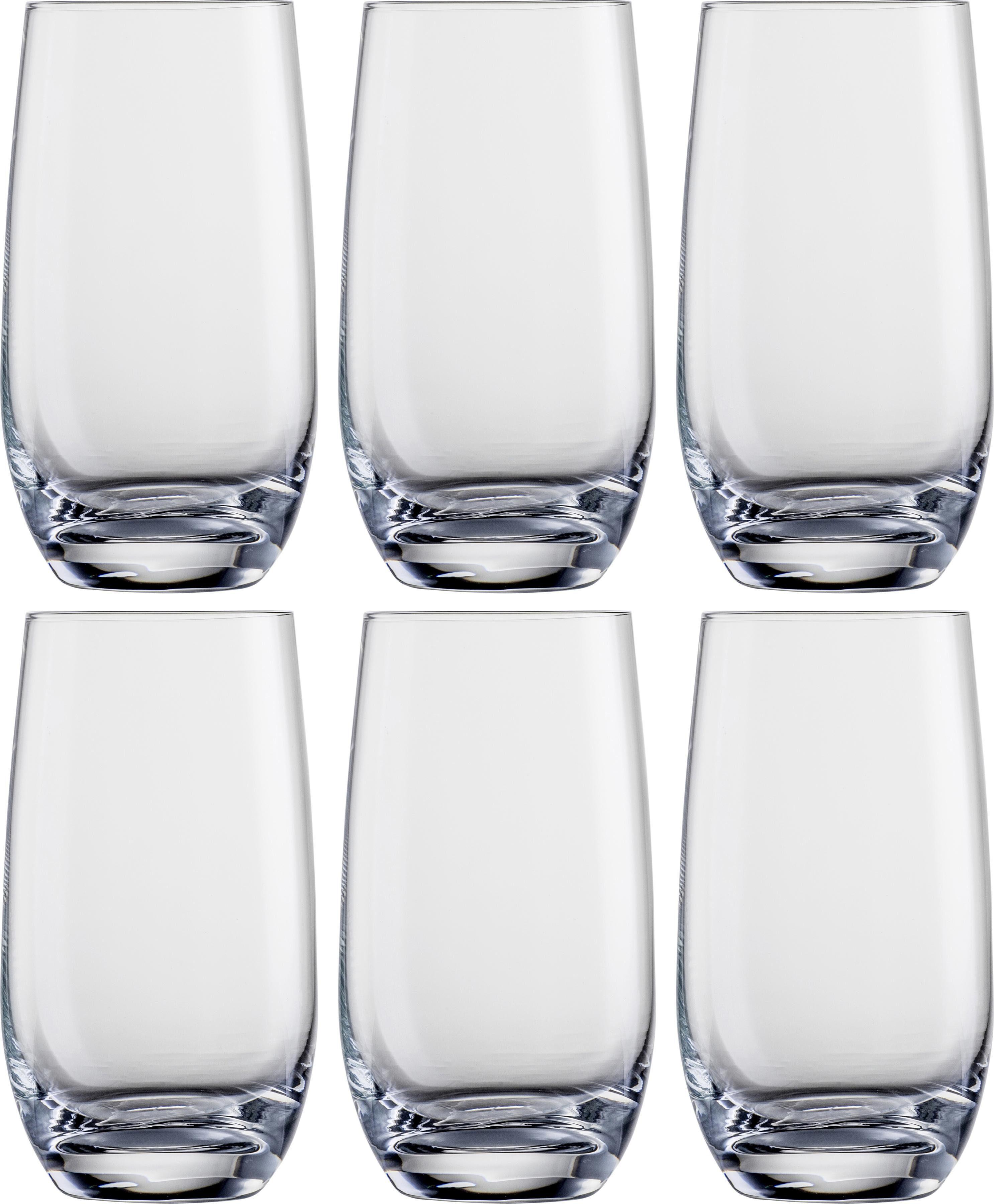 Eisch Longdrinkglas, (Set, 6 tlg.), bleifrei, 490 ml farblos Kristallgläser Gläser Glaswaren Haushaltswaren Longdrinkglas