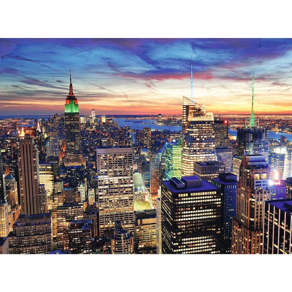Papermoon Fototapete »New York at Dusk«