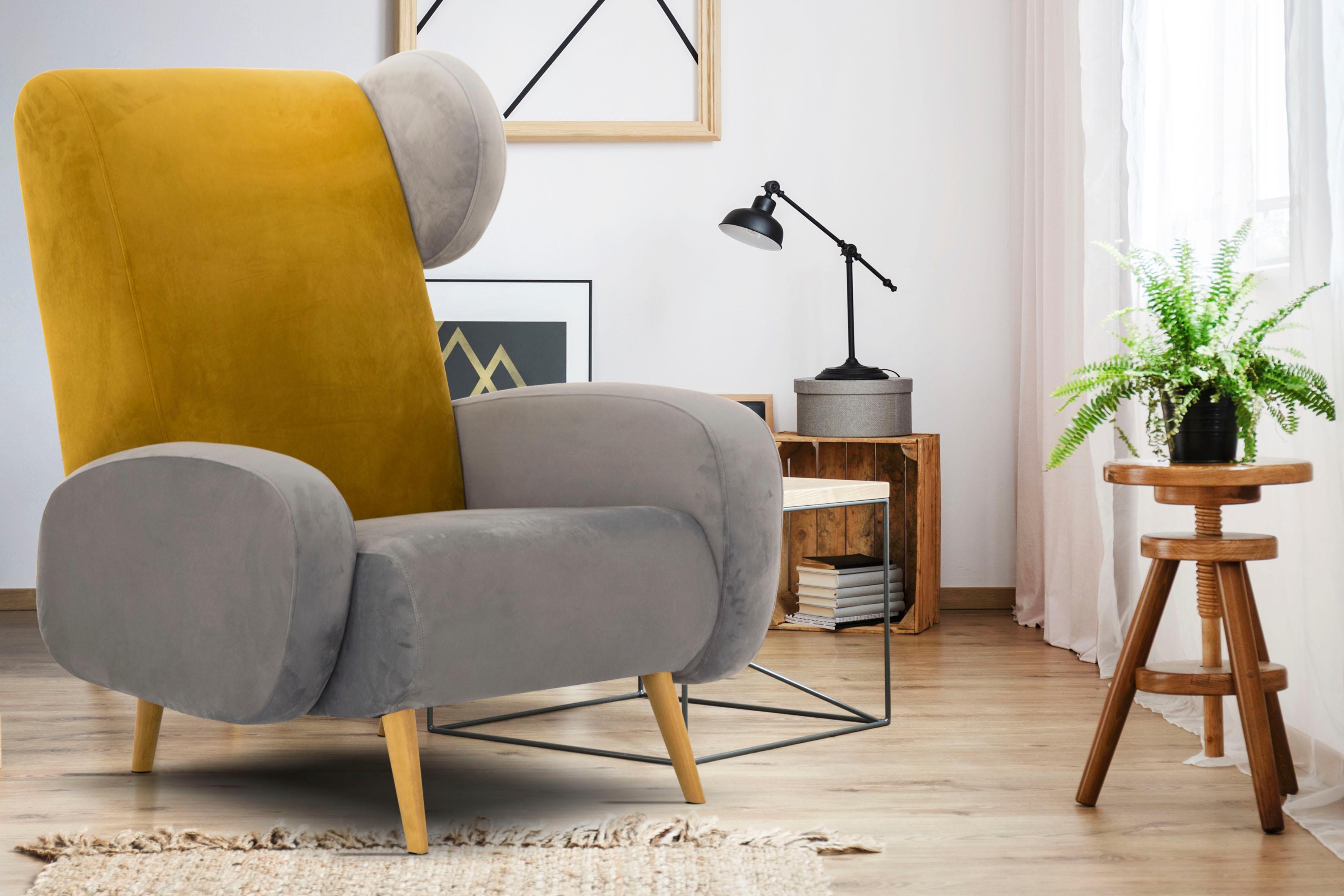 Home affaire Sessel Gox in außergewöhnlicher stylischer Optik