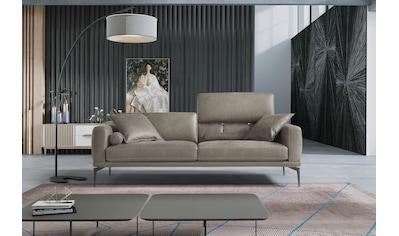 Egoitaliano 2,5-Sitzer »Masu«, inkl. 2 Kissenrollen, Rückenelemente manuell... kaufen