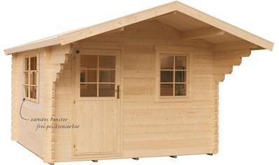 Kiehn - Holz Gartenhaus »Finkenberg«, BxT: 405x449 cm, inkl. Vordach und Fußboden kaufen