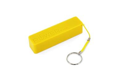 XLAYER Zusatzakku »Powerbank Colour Line Yellow 2600mAh Smartphones/T« kaufen
