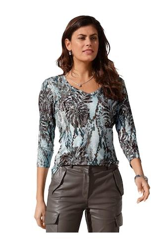Amy Vermont 3/4-Arm-Shirt, mit grafischem Muster kaufen