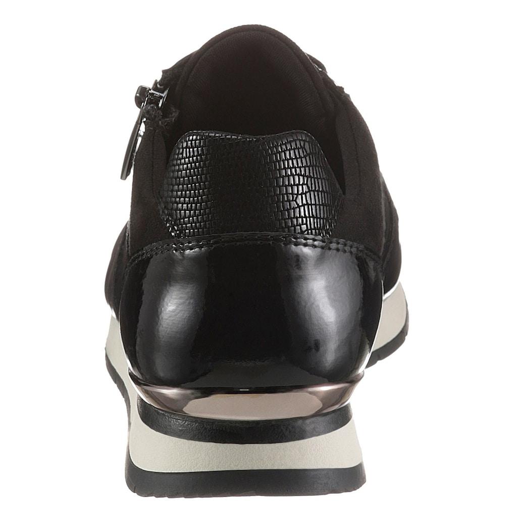 Tamaris Sneaker »DAKI«, mit praktischem Außenreißverschluss