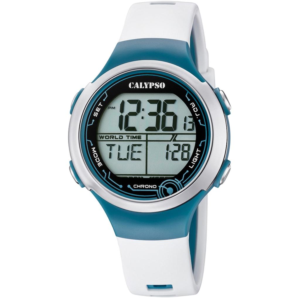 CALYPSO WATCHES Chronograph »Digital Crush, K5799/1«