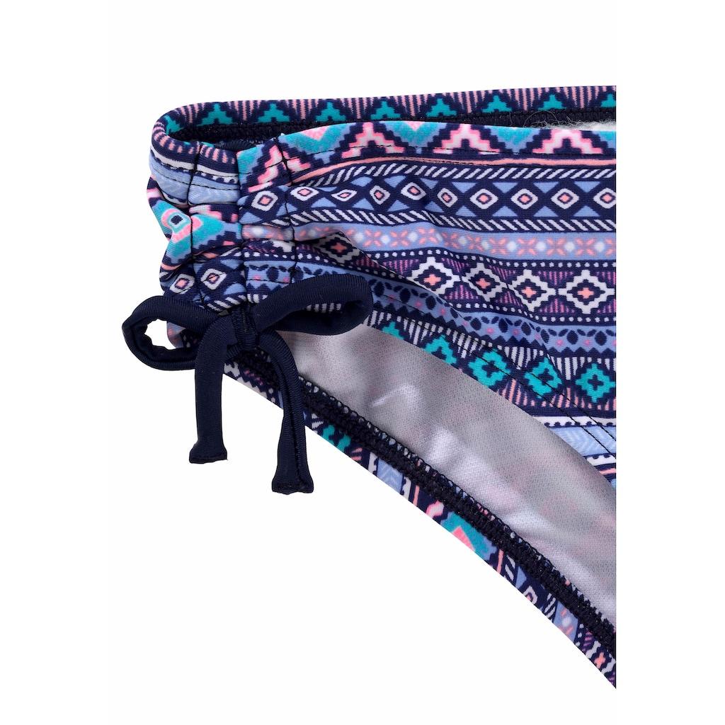 s.Oliver Beachwear Triangel-Bikini, mit Ethno-Druck